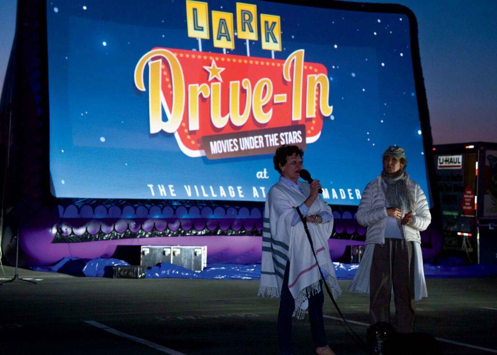 Lark Theater drive-in movie