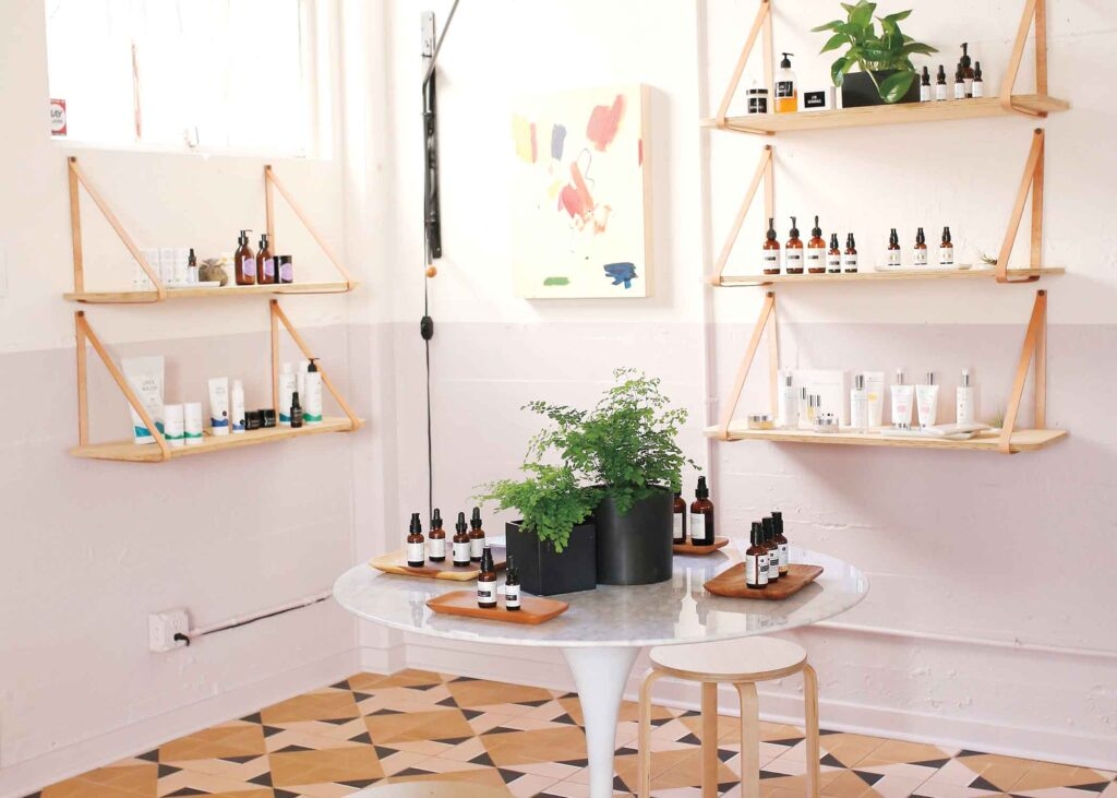 Ayla Beauty's brick-and-mortar shop