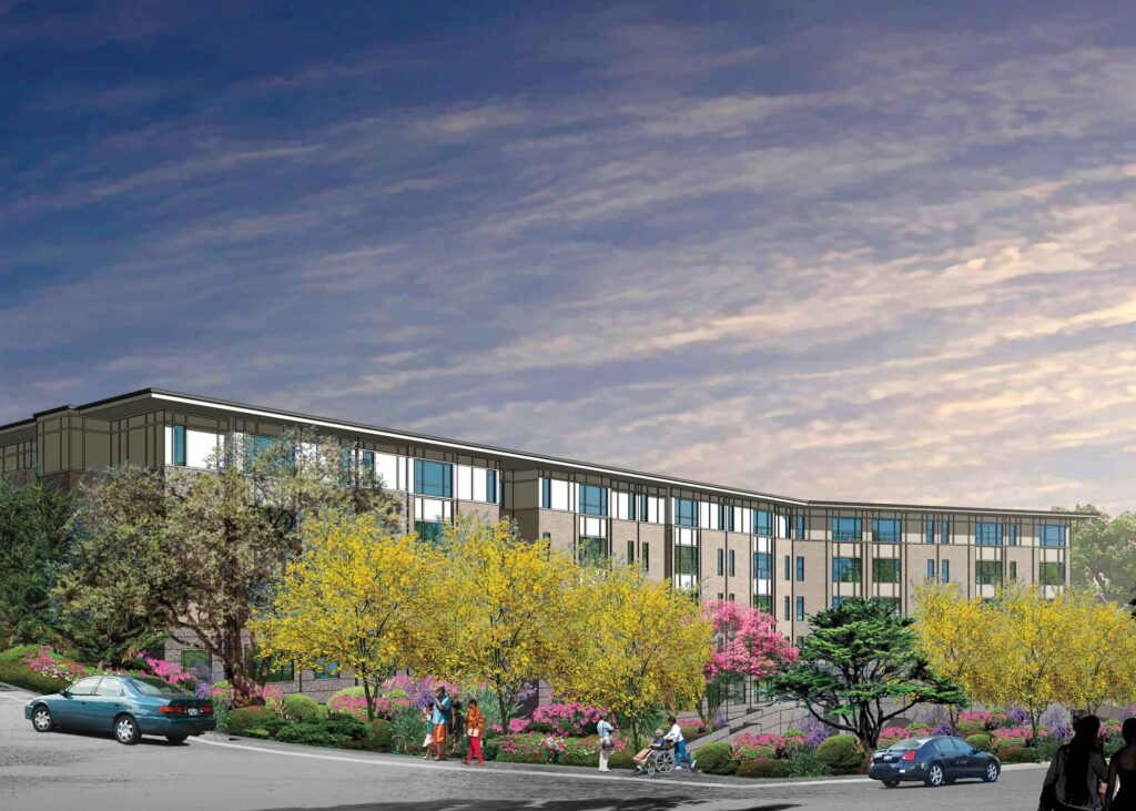 new Marin City 74-units apartment building