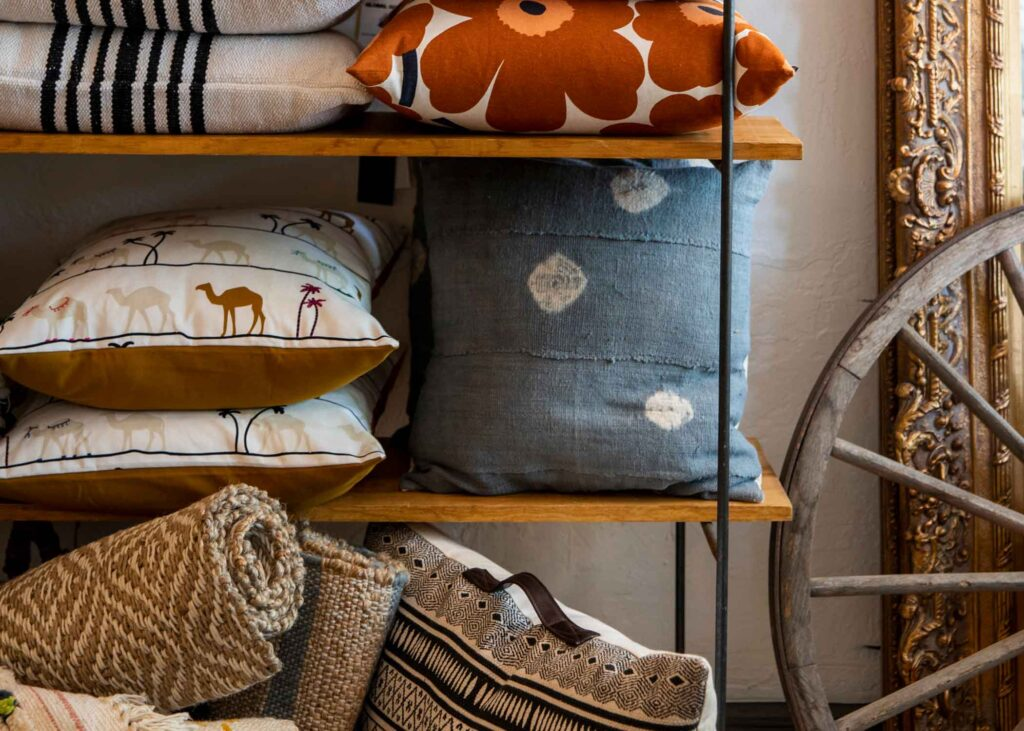 Pillows at Outpost Home shop