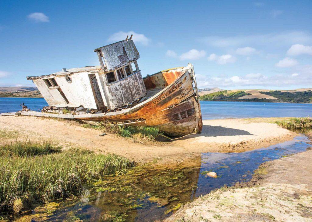 Tomales Bay shipwreck