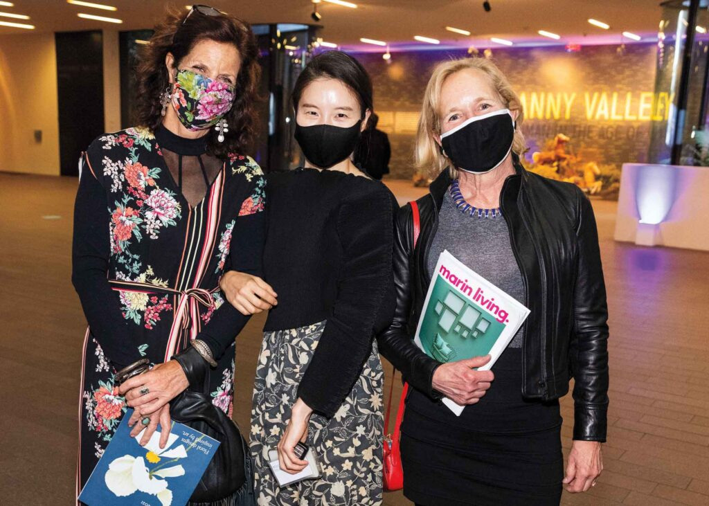 Mimi Cunningham, Jiyoung Moon and Kim McGinnis