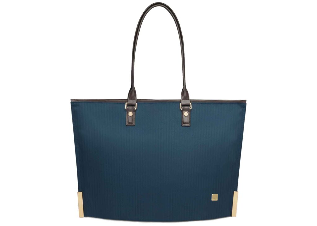 Moshi tote in blue color