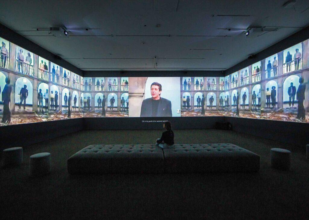 George Fok exhibit of Leonard Cohen, immersive experience