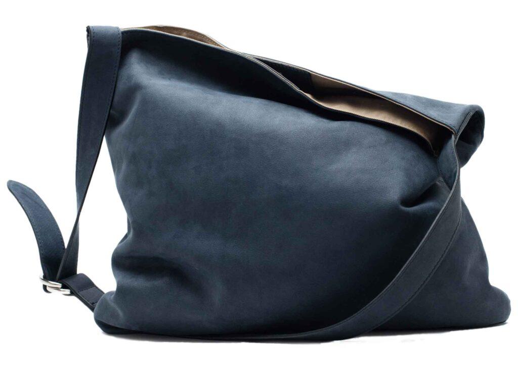 hobo bag in blue