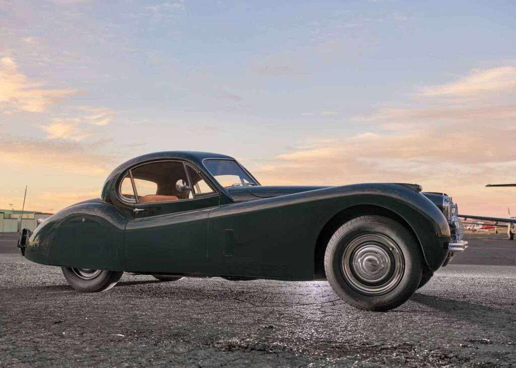 Jaguar car at CB Skyshare