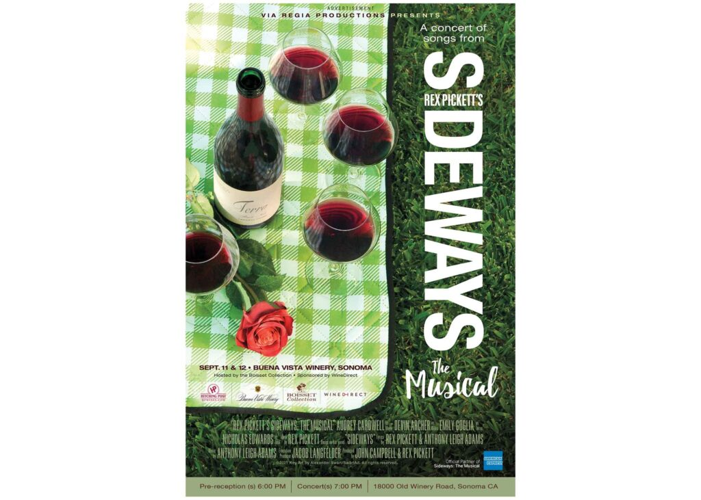 Sideways The Musical Concert poster