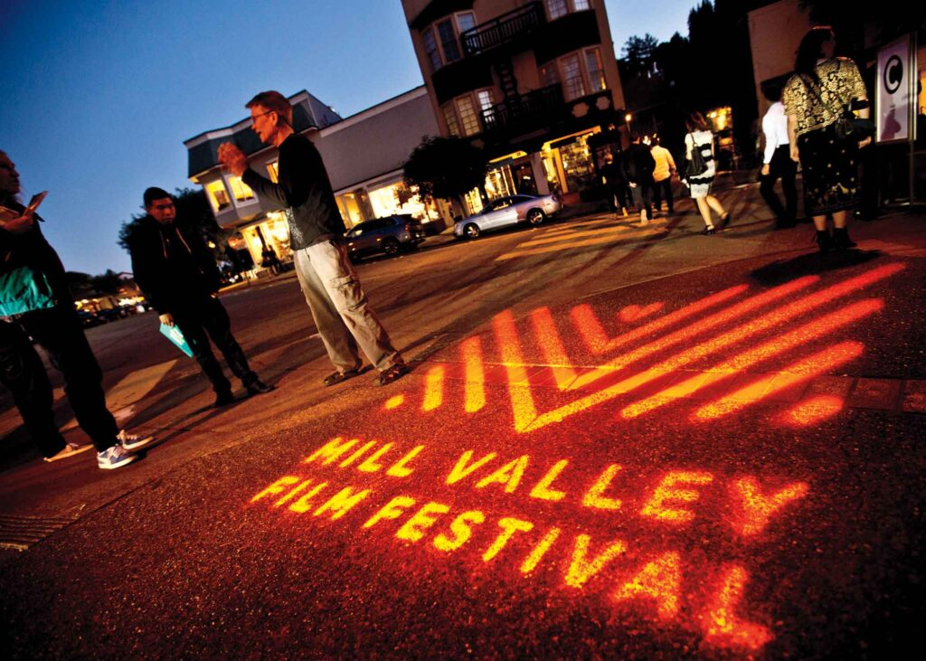 outside of the Mill Valley Festival
