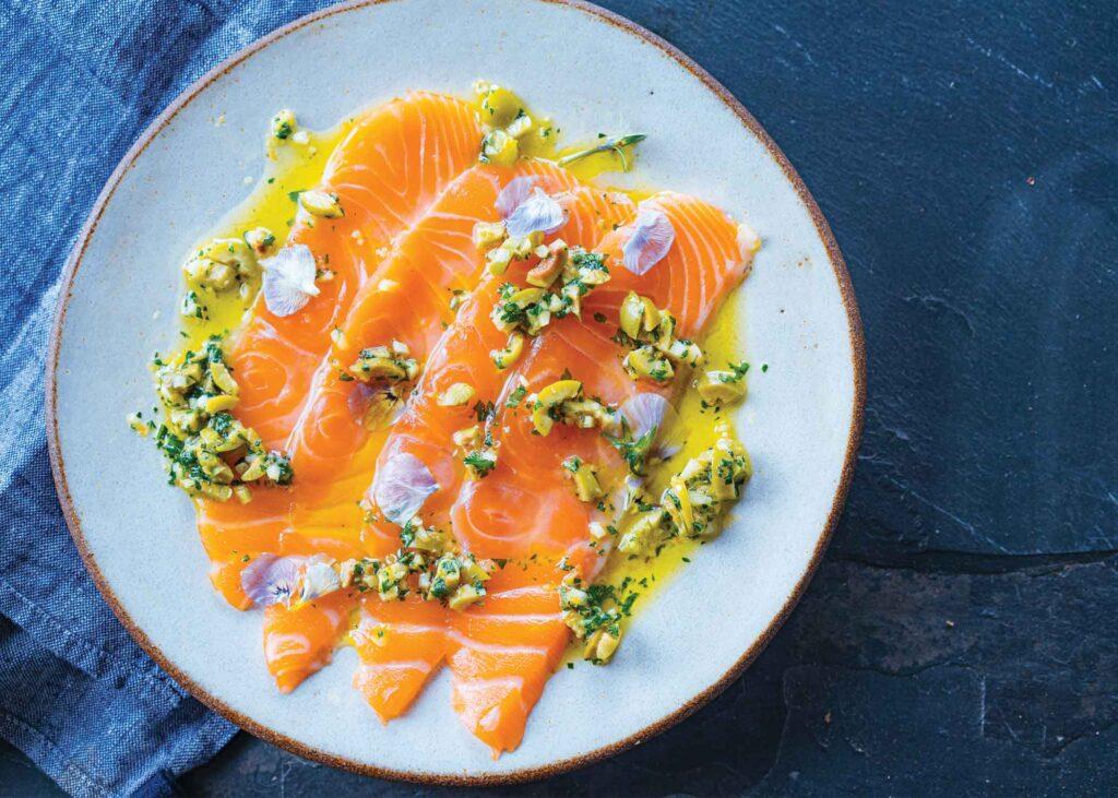 Sea Pantry's Cured Kvarøy Arctic Salmon