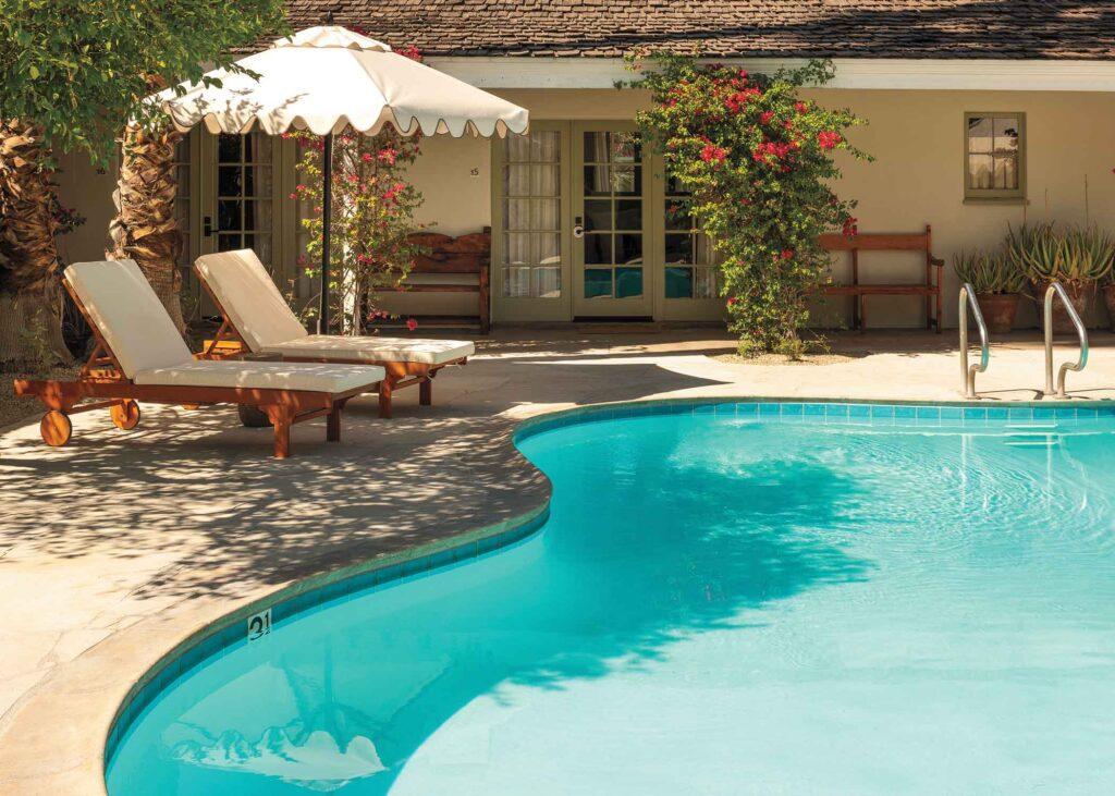 Casa Cody's relaxing pool area