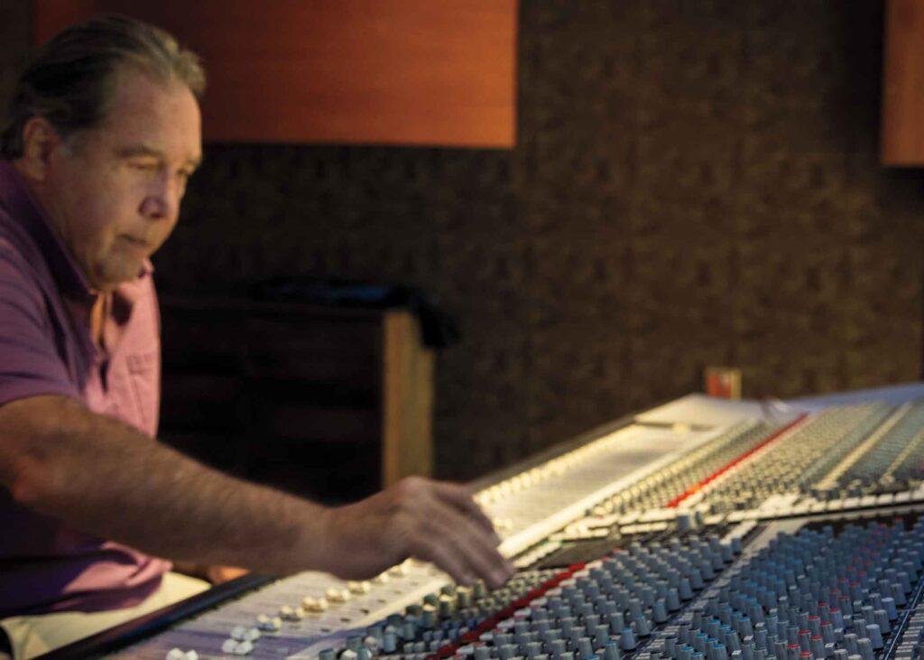 Ken Caillat at the sounding board